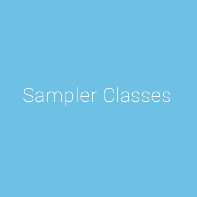 Summer Sampler Classes at DDANW