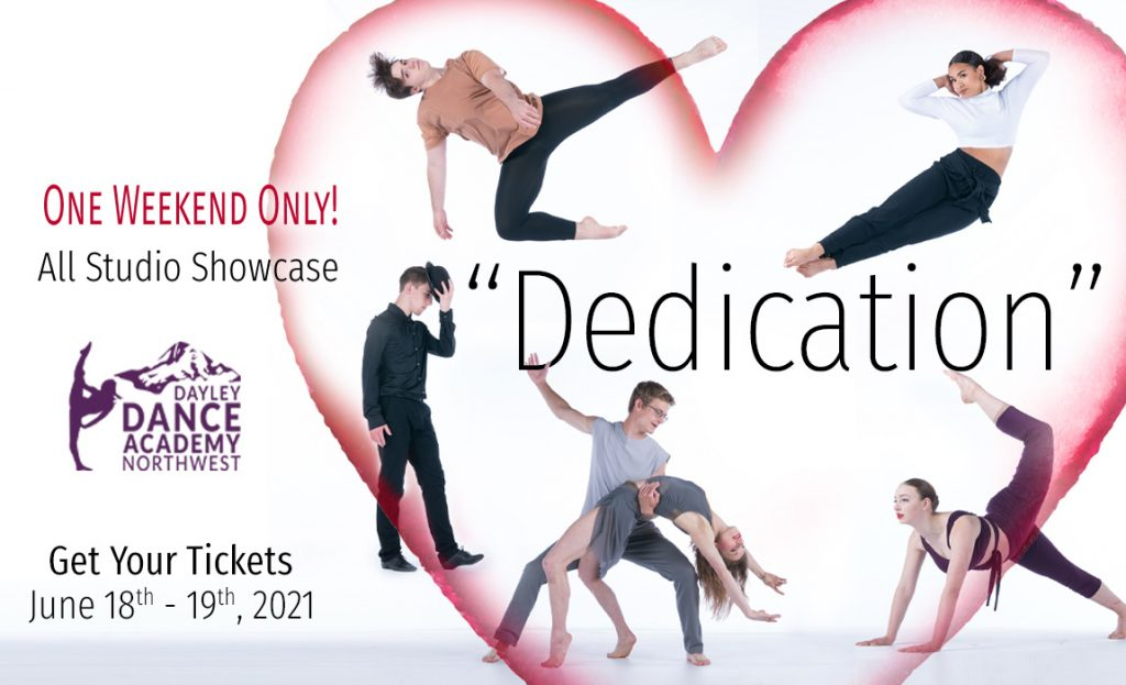 Dedication, 2021 All Studio Dance Showcase